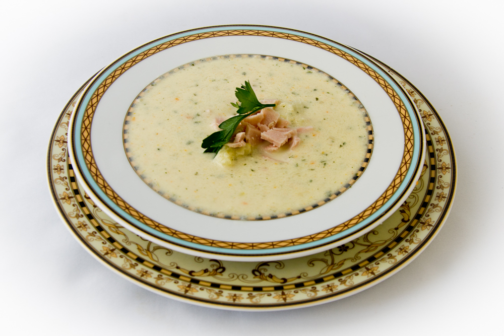 Blumenkohl-Creme-Suppe